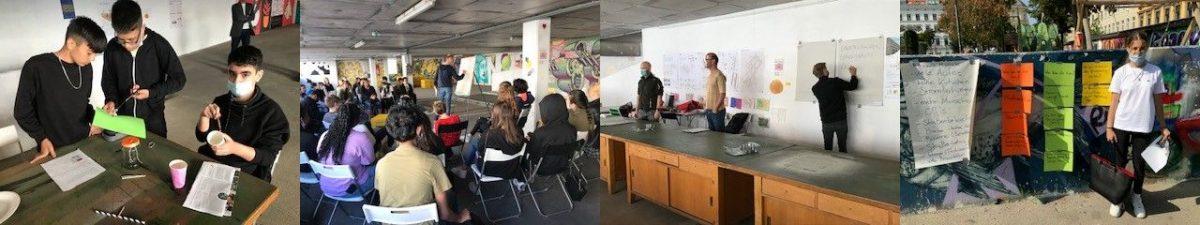 SchülerInnen der KOPP2 als KlimaforscherInnen